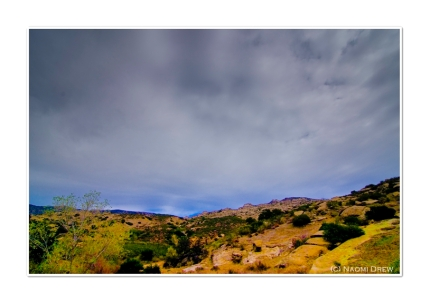 Sky Above Hummingbird Canyon
