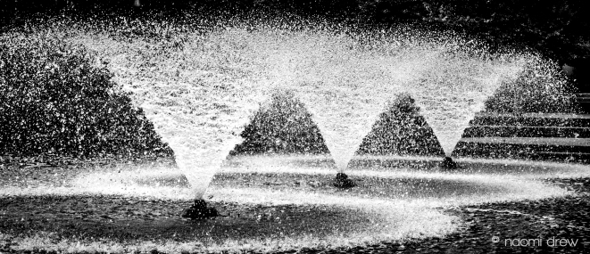 Fountains in Summer