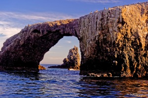 Arch Rock at Sundown-1