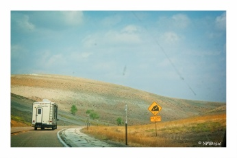 On the Road (in Western Wyoming)