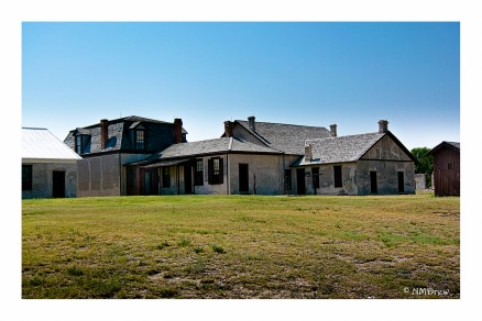 Buildings at Fort Laramie, WY