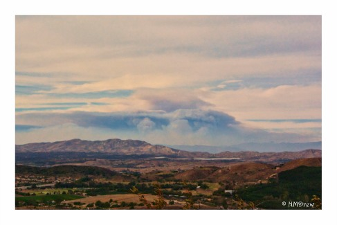 Thomas Fire from the Reagan Library